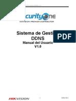 Hikvision Servicio Ddns Manual de Usuario v1.0 20120301 Espanol