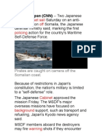 Class - Japan Destroyers Set Sail on Anti-piracy Mission