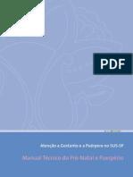 Manual Técnico do Pré-Natal e Puerpério