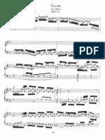 Bach - Toccata No 2 in c, BWV 911