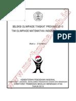 Soal dan Bahas OSP Matematika SMA 2010.pdf