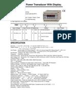 Transductor Multifuncion TRMT