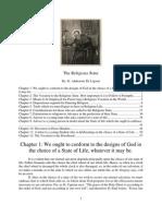 The Religious State Saint Alphonsus