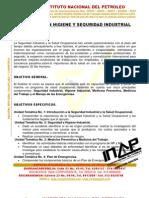 Contenidos Programaticos Cursos Inspector en Hse Inap 2012