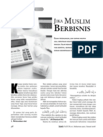 Jika Muslim Bisnis