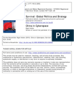 China in Cyberspace