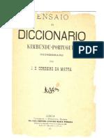 Diccionario-Kimbundu