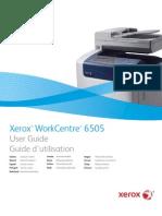 Guia Xerox WC 6505