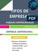 Clase 03 Tipos de Empresas