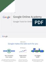 Google Online Academy