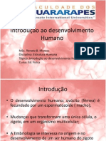 Introdução a Embriologia Humana aula 1