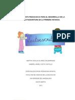 Propuesta Pedagogica Para El Desarrollo de La Lectoescritura en La Primera Infancia Definitivo