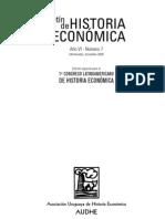 Boletín de historia económica- método comparado