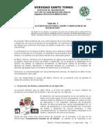 Taller No. 1 Implementación del QFD - PROCESOS I – U. Santo Tomás