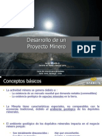 02.- Desarrollo de Un Proyecto Minero.