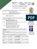 Concepto de Mol y Numero de Avogadro