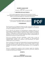 Decreto 1543 de 1997