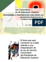 Servicio Comunitario Universidad de Carabobo Venezuela