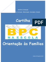 Cartilha Bpc Na Escola