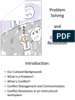 Intercultural Conflict Resolution