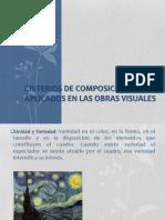 CRITERIOS DE COMPOSICIÓN APLICADOS EN LAS OBRAS VISUALES