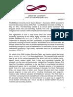 PSG 2013 Sponsorship Letter