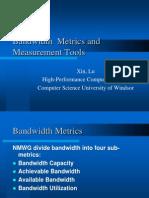 Bandwidth Metrics