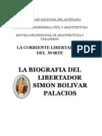 Monografia Del Libertador Simon Bolivar