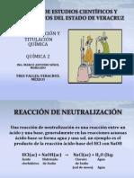 neutralización y titulación