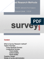 Survey Method Research