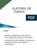 Regulatorul de Turatii