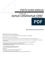 Parts Guide Manual Bizhub C552_bizhub C652