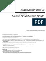 Parts Guide Manual Bizhub C552_bizhub C652