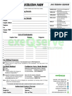 High Performance Leadership Workshop Registration Form