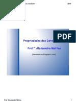 Propriedades de Determinantes 2013