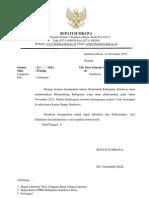 Surat Undanga Musrembang