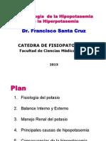 Fisiopatologia Del Potasio FP 2013
