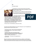 Webster Tarpley Interview with Retired DEA Agent  Celerino Castillo III