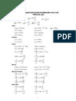 Calculation Formwork Rev 1