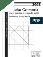 enseñar geometria