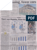Palo Alto Daily Post Mar 22 2013 - More Housing, Fewer Cars