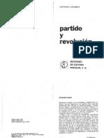 Gramsci, Antonio - Partido y Revolucion