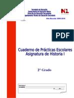 Cuaderno de Prácticas Escolares. Historia I (tipo Enlace).