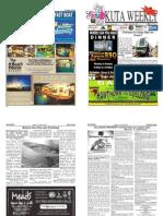 "Kuta Weekly-Edition 329 ""Bali's Premier Weekly Newspaper"""
