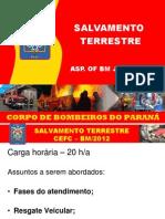 Aula 1 - Salvamento Terrestre CEFC-12