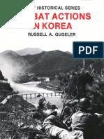 COMBAT ACTIONS IN KOREA (Front)