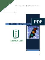 Automatic traffic light controller