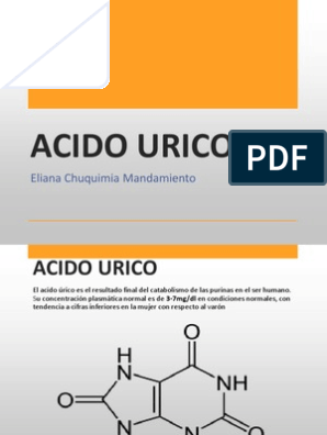 Acido urico entera y leche