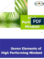 High Performing Mind Set_service Providers