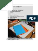 tutorial de encuadernación casera